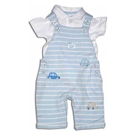 overal kojenecký a tričko, Minoti, CITY 9, bílá