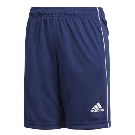 adidas CORE18 TR SHO Y modrá - Chlapecké šortky
