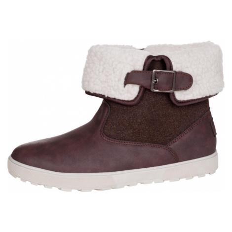 ALPINE PRO NALINA Dámská zimní obuv LBTM182996 hnědá