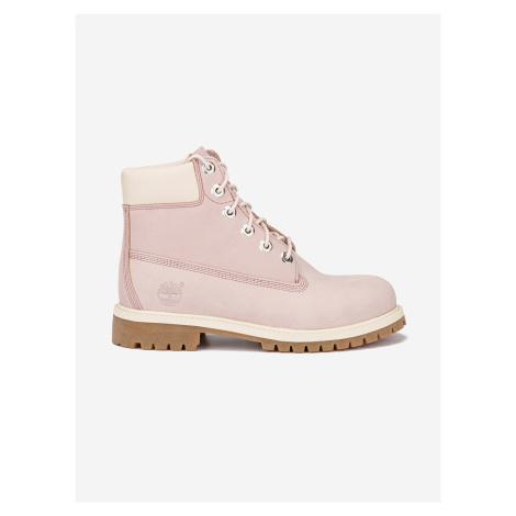 Boty Timberland 6 In Premium WP Boot Růžová
