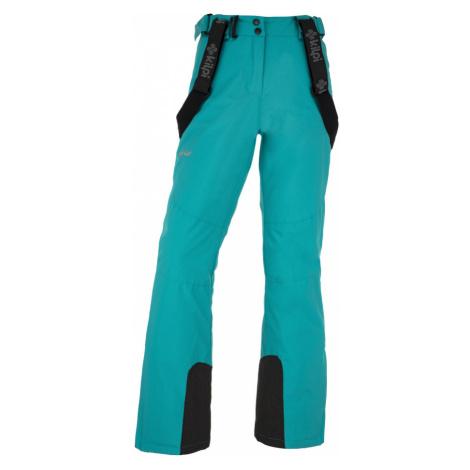 KILPI Dámské lyžařské kalhoty ELARE-W JL0011KITRQ Tyrkysová