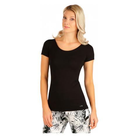 LITEX Tričko dámské s krátkým rukávem 5B163901 černá