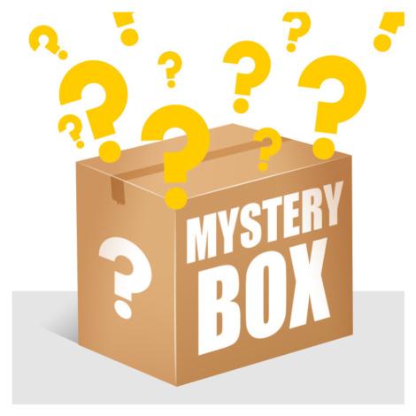 MYSTERY BOX - 5PACK pánské trenky Styx klasická guma