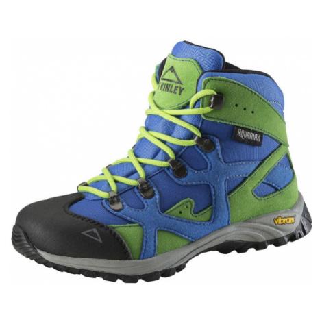 Dětská turistická obuv McKinley Ribosome Action AquaMax Jr. Blue