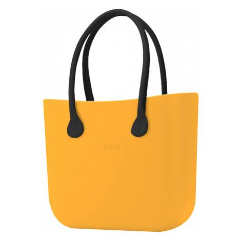 Kabelka obag citrus s držadlem kůže černá O bag
