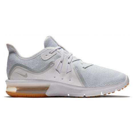 Dámské běžecké boty Nike Air Max Sequent 3 Bílá / Hnědá