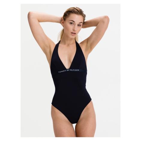 Jednodílné plavky Tommy Hilfiger Modrá