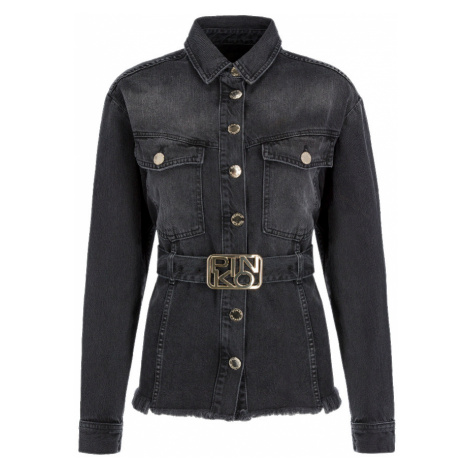 Černá džínová bunda PINKO