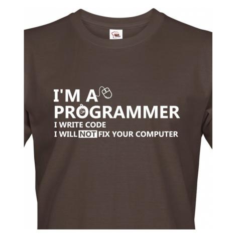 Pánské tričko pro programátory Jsem programátor BezvaTriko