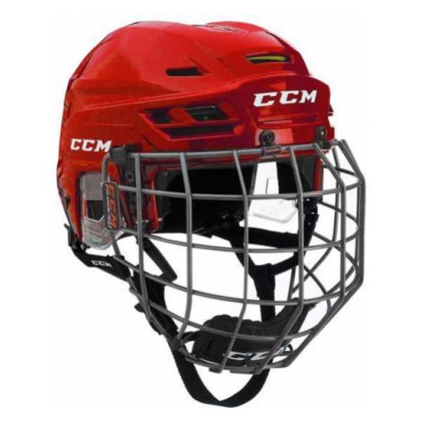 CCM TACKS 310C SR COMBO červená - Hokejová helma