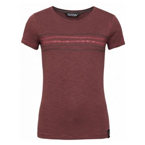 Dámské triko Chillaz Gandia Rope Ornament T-Shirt mahogany