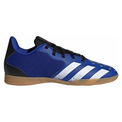 Dětské sálovky adidas PREDATOR FREAK.4 IN Modrá / Černá