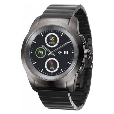 MyKronoz Hybridní hodinky ZeTime Elite Titanium Modern Link - mm