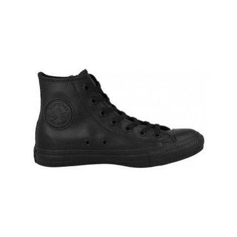 Converse Chuck Taylor All Star Leather Hi Černá
