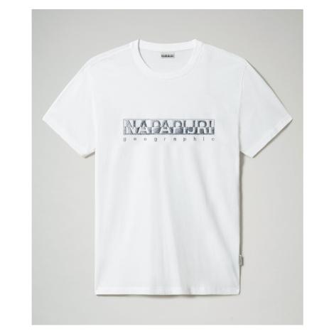 Napapijri Tričko Sallar Ss Bright White 002