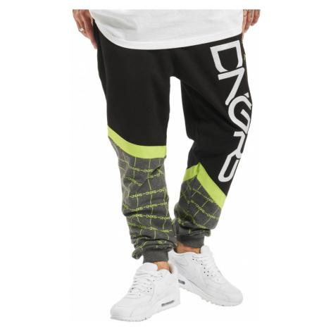 Dangerous DNGRS / Sweat Pant Woody in black