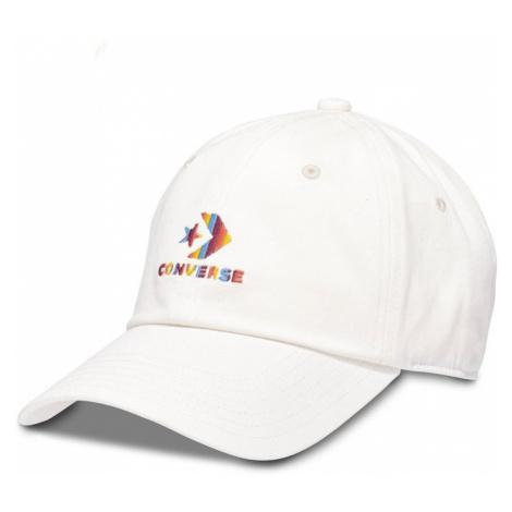 Smetanová kšiltovka Lock Up Baseball Cap Converse
