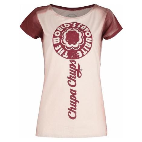 Chupa Chups Lolly Dámské tričko červená