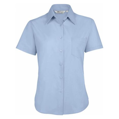 SOLS Dámská košile ESCAPE 16070220 Sky blue SOL'S