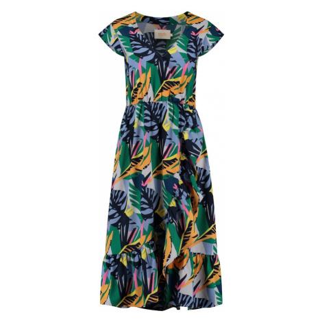 Shiwi Šaty 'Frangipani Florence' světlemodrá / námořnická modř / pink / žlutá / šedá