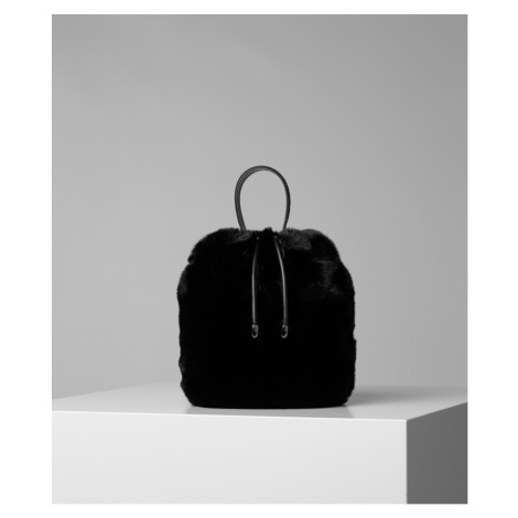 Taška Karl Lagerfeld Karl X Carine Fur Bucket
