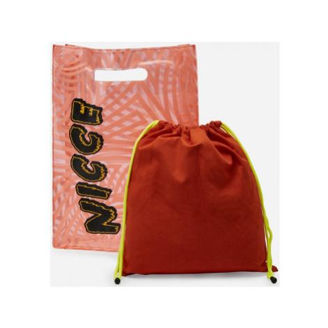 Nicce London Levitate large top handle tote bag Oranžová