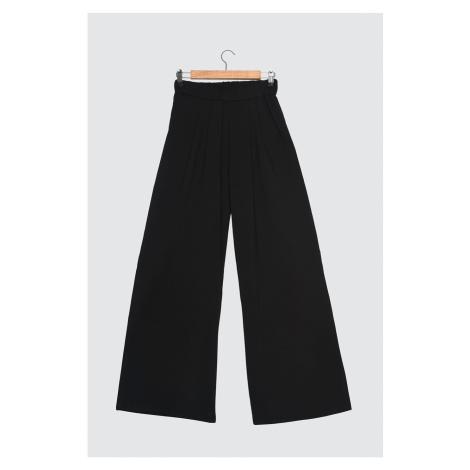Trendyol Black Flare Knitted Pants
