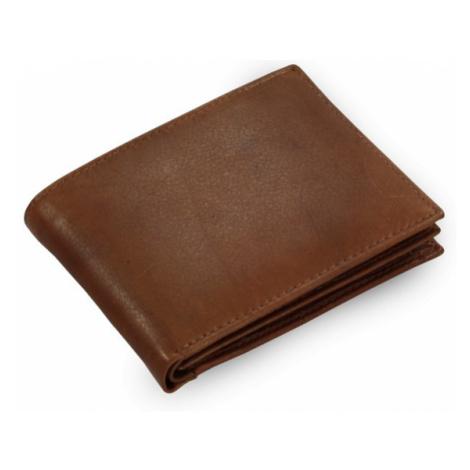 Tmavě hnědá pánská kožená peněženka Steven Arwel