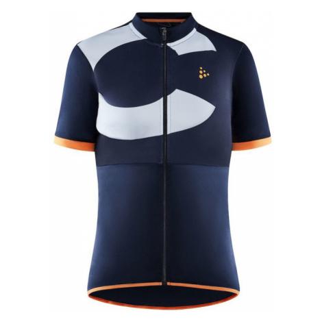 Dámský cyklodres CRAFT CORE Endur Logo tm.modrá