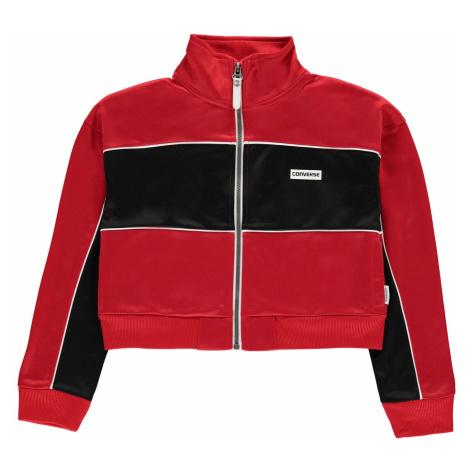 Converse Cropped Zip Jacket Junior Girls
