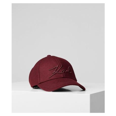 Čepice Karl Lagerfeld K/Signature Felt Cap