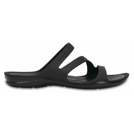 Crocs Swiftwater Sandal W Paradise Black/Black W5