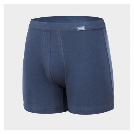 Pánské boxerky Cornette Authentic modré (220/01)