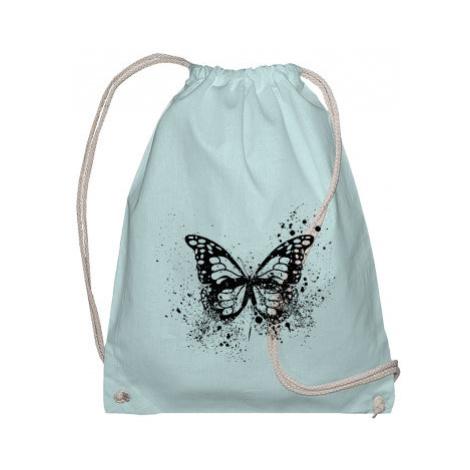 Bavlněný vak na záda Motýl grunge