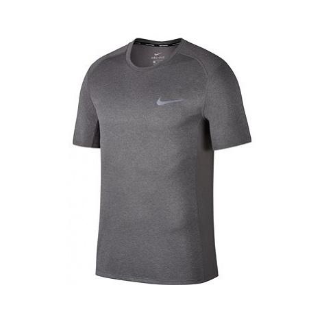 Nike Dry Miler Running Top GREY