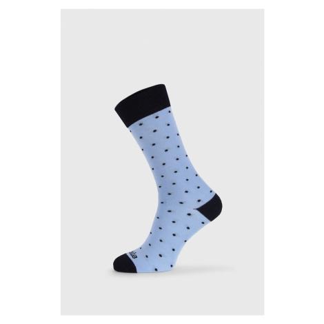 Společenské ponožky Fusakle Gentleman Blankytný