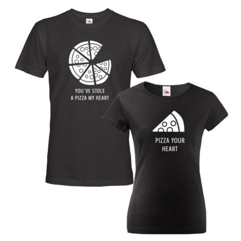 Trička pro páry Pizza - ideální trika pro zamilované BezvaTriko