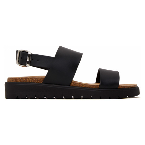 Dámské černé sandály Matt & Nat Ashai