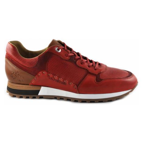 Polobotky La Martina Man Shoes Rodi - Červená