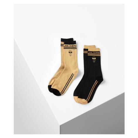 Ponožky Karl Lagerfeld K/Ikonik Evening Sock 2Pak - Různobarevná