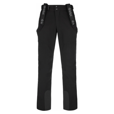 KILPI Pánské lyžařské softshellové kalhoty - větší velikosti RHEA-M NMX030KIBLK Černá