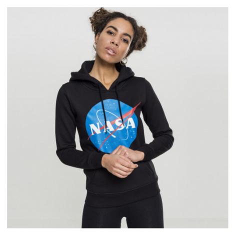 Mr. Tee Ladies NASA Insignia Hoody black