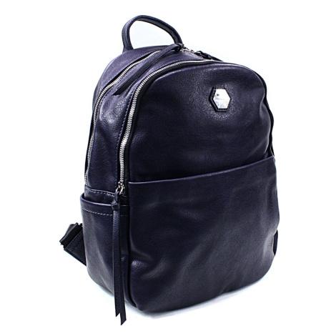 Tmavě dámský modrý moderní batoh Ibri David Jones