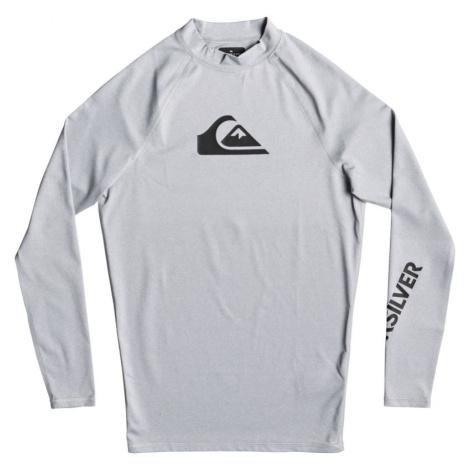 TRIKO QUIKSILVER ALL TIME L/S SURF - šedá