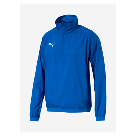 Liga Training Windbreaker Bunda Puma Modrá