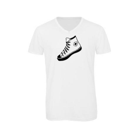 Pánské triko s výstřihem do V Converse