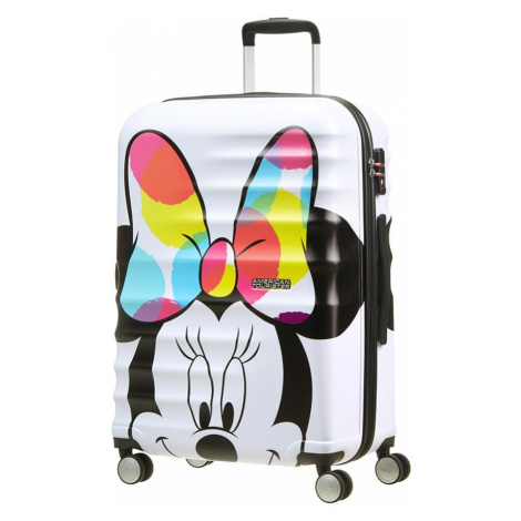 AT Dětský kufr Wavebreaker Disney Spinner 67/26 Minnie Close-Up, 47 x 26 x 67 (85670/6977) American Tourister