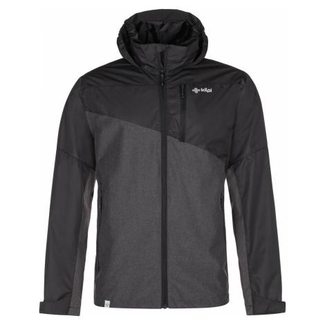 KILPI Pánská outdoorová bunda ORLETI-M MM0012KIDGY Tmavě šedá