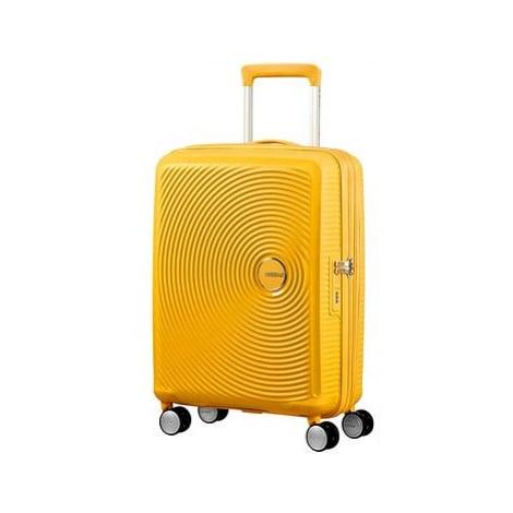 American Tourister Soundbox Spinner 55 Exp Golden Yellow