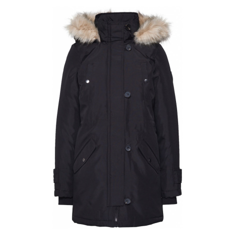 VERO MODA Zimní kabát 'Excursion Expedition' černá
